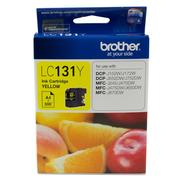 Brother Lc131y Yellow Ink Cartridge Genuine