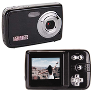 Digital Camera Camcorder 4 x Digital Zoom - Black