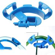 Aquarium Water Pipe Mount Tube Holder Filter Hose Fish Tank Blue Filtration