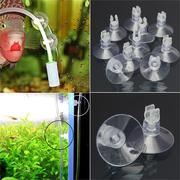 10pcs Aquarium 4mm Pipe Hose Tube Holder Sucker Suction Cup Fish Tank Pump