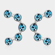 SEVENTY 6 Fixed Star Ocean Blue Earrings (2391)