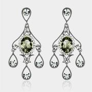 Caromay Rain Screen Green Earrings (E0077)