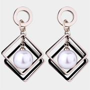 Caromay Silent Games Silver Earrings (E4374)
