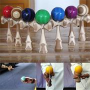 Wooden Funky Kendama Bamboo Kendama Skill Toy Puzzle Intellectual Game Kid Toy