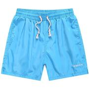 Mens Summer 10 colors Quick-drying Elastic Waist Drawstring Solid Color Casual Beach Shorts