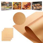 3-5Pcs Copper Chef Grill Bake Mats