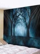 Halloween Tree Tapestry Wall Art Home Decor