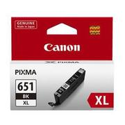 Canon Cli651xl Black Ink Cart 5530 A4 Pages (iso/iec 24711) Black