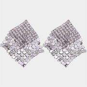 Caromay Chicago Silver Earrings (E4011)
