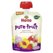 Holle Organic Pouch Berry Puppy - Apple & Peach with Fruits of the Forest (100g x 6)