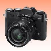 New Fujifilm X-T10 Mirrorless 16MP (18-55mm) Digital Camera Black (FREE INSURANCE + 1 YEAR AUSTRALIAN WARRANTY)