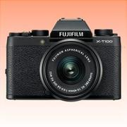 New Fujifilm X-T100 Mirrorless 24MP (15-45mm) Digital Camera Black (FREE INSURANCE + 1 YEAR AUSTRALIAN WARRANTY)