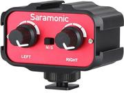 Saramonic SR-AX100 Passive 2- Channel Audio Adapter for DSLR Cameras