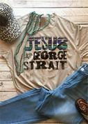 Jesus And George Strait T-Shirt Tee
