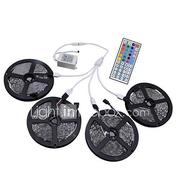 HKV 20M(4x5m)RGB LED Strip Light 3528 LED Light RGB Leds Tape Diode LED Ribbon Flexible Controller 44 key Controller