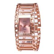 Women's Luxury Watches Wrist Watch Gold Watch Quartz Stainless Steel Silver / Gold / Rose Gold 30 m New Design Casual Watch Analog Ladies Vintage Fashion - Silver Rose Gold Black / Rose Gold