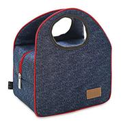 Portable Insulated Canvas Thermal Food Picnic Lunch Bags Camping Barbecue Food Container
