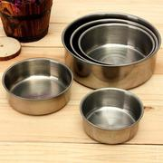 5pcs Stainless Steel Food Container Bowls Crisper Lunch Box
