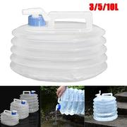 3L 5L 10L Portable Foldable Camping Travel Use Buckets Picnic Activities Use Water Basins
