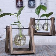 Transparent Glass Vases Hydroponic Plants Creative Gifts Home Living Room Crafts Decoration