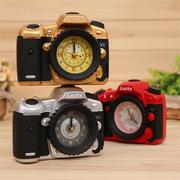 Creative Camera Shape Alarm Clock Desk Table Clock Bedroom Home Decor Birthday Gift Present