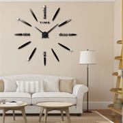 3D Acrylic Wall Clock DIY