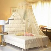 260cm Single-door Elegant Lace Hanging Bedding Mosquito Net Dome Princess Bed Canopy Netting