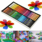 50 Pcs Crayon Non-toxic Oil Pastels Drawing Pens Artists Mechanical Drawing Paint Intelligence Toy