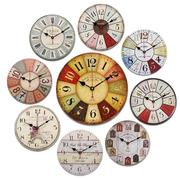 Vintage  Wooden Digital Wall Clock