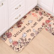 Welcome to My Home Non-slip Floor Mat Door Rug