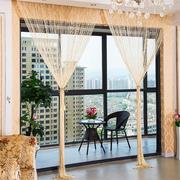 1.0x2.0m Glitter String Bead Door Curtain Panels Fly Screen Room Divider Voile Curtains Net
