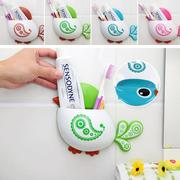 Multifunctional Bird Toothbrush Holder Suction Hooks For Bathroom Accessories