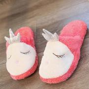 Cartoon Plush Bedroom Home Shoes