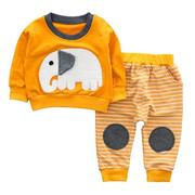 2pcs Cute Animal Baby Clothes Set
