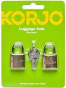 Korjo Luggage Lock - Duo Pack
