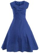 Small Polka Dot Vintage Dress