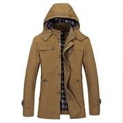 Solid Big Size Leisure Coat