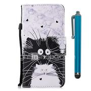 Case For Huawei P9 lite mini Huawei P smart Card Holder Wallet with Stand Flip Magnetic Full Body Cases Cat Hard PU Leather for P10 Lite