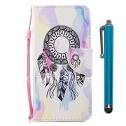 Case For Huawei P9 lite mini Huawei P smart Card Holder Wallet with Stand Flip Magnetic Full Body Cases Dream Catcher Hard PU Leather for