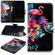 Case For Huawei P9 lite mini / Huawei P smart Wallet / Card Holder / with Stand Full Body Cases Flamingo Hard PU Leather for Huawei P20 / Huawei P20 Pro / Huawei P20 lite