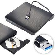 USB 3.0 Portable Ultra Slim External CD-RW DVD-RW CD DVD ROM Player Drive Rewriter Burner