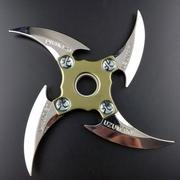 Quadrilateral Spinner Fidget Metal Finger Stress Hand Bearing Rotating Darts EDC ADHD Toys Foldable Folding Rotation