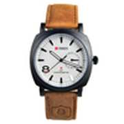 2014 NEW CURREN 3ATM Waterproof Quartz Business Men's Watches,Men's Military Watches,Men's Leather strap Watches