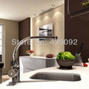 Swivel kitchen faucet, 360 degrees turning for Various use, kitchen sink mixers taps for Kitchen hot and cold PGCF100