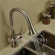 Modern Pull Out Kitchen Mixer Faucet Brushed Nickle kitchen Spray Faucet Hot And Cold Kitchen Mixer Tap