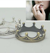 FREE SHIPPING new 2014 Personalized Crown Ring O  jewelry vintage jewelry rings L4A15