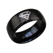 men jewelry  stainless steel ring  for man  movie jewelry fashion  superman ring  finger ring R-008