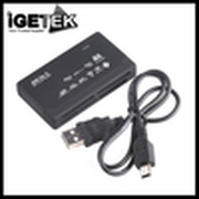 Hot Sale Discount USB 2.0 All in 1 Multi Card Reader SD/XD/MMC/MS/CF/SDHC Laptops & Desktops Peripherals Accessories Black