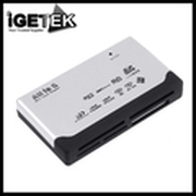 Hot Sale Discount USB 2.0 All in 1 Multi Card Reader SD/XD/MMC/MS/CF/SDHC Laptops & Desktops Peripherals Accessories Wholesale