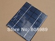 HOT! A Grade 2W 6V Polycrystalline Solar Cell Solar Panel Solar Cell Panel DIY  Solar  charger 136 * 110 * 3 mm Free shipping